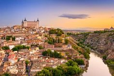 Toledo, Spain old city over the Tagus River. - SeanPavonePhoto/iStock/Getty Images Plus