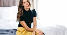 A Lesson in Minimalist Dressing from Blogger (and Fashion Crush) Camille Styles via @PureWow