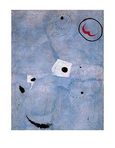 Komposition in Blau, c.1925 Art Print at AllPosters.com