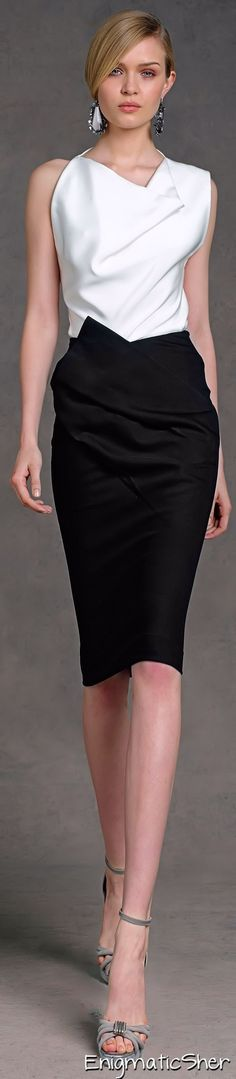 Donna Karan ~Latest Luxurious Women's Fashion - Haute Couture - dresses…
