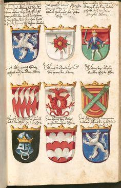 Image Medieval Helmets, Pilgrimage, Pot Holders, Book Illustrations, Books, Konstanz, Crests, Bavaria, Libros