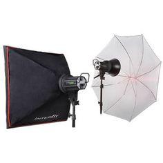 Interfit   EX150 MKIII 2 Monolight Umbrella/Softbox Kit (120VAC)