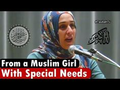 Islamic Lectures of Yasmin Mogahed, Mufti Ismail Menk, Islamic Speakers: From a Muslim Girl with Special Needs Muslim Girls, Special Needs, Speakers, Islamic, Reading, Music Speakers, Loudspeaker