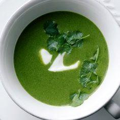 Zupa szpinakowa z mlekiem kokosowym | Kwestia Smaku