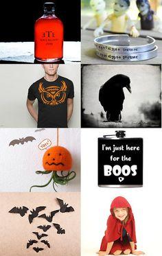 #Halloween Fun by Linda Loca on #Etsy--Pinned with TreasuryPin.com #DBC #darkbeautycollective