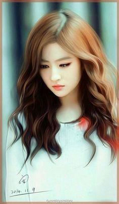 Painting Girl Water Beautiful New Ideas Beautiful Fantasy Art, Beautiful Anime Girl, Art Anime, Anime Art Girl, Lovely Girl Image, Cute Girl Drawing, Cute Cartoon Girl, Girly Drawings, Cute Girl Wallpaper