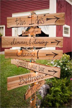 Five Eye Catching Fall Wedding Reception Ideas