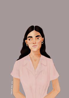 #digital #krita #color #portrait #drawing