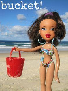 Bucket! #1wordshare At Rainbow Beach.