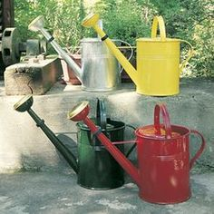 LARGE GREEN CLASSIC WATERING CAN