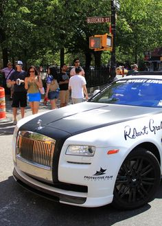Rolls Royce Ghost Gold Rush Rally 'Personally my favourite type of cars'