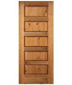 5 panel equal raised knotty alder stain grade solid core interior wood doors new - 5 Panel Wood Interior Doors