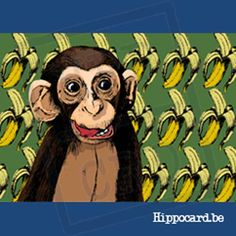 Monkey Loves Bananas - Fien Cox Bananas, Grinch, Monkey, Illustrator, Monkeys, Banana
