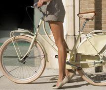 bike, legs, shorts & flats.. perfect!!