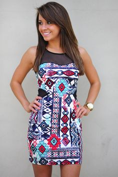 Cutest Cave Woman Dress: Multi | Hope's #shophopes