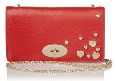 BAG LOVE: Mulberry Valentine's Bayswater clutch - Handbags News - handbag.com