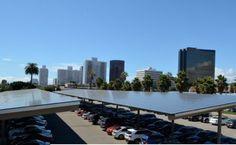 Massive Solar Carport Project at West LA Veterans Administration