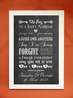 """Weiteres - Kunstdruck """"The key to a happy marriage"""" - ein Designerstück von Foto-Design-Digital-Art bei DaWanda"""
