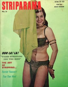 Striparama vol 2 no 10 1966 vintage adult straight magazine collectible