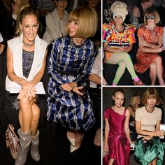 Best Seat in the House: Who's Been Sitting Front Row With Anna Wintour
