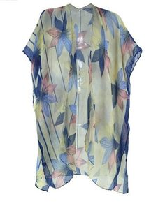 Kimono fashion - wear a kimono with jeans, over a swimsuit, over your favorite summer dress or with shorts and a tee. The style possibilities are endless! Click through to see some of the most affordable ones around.