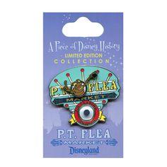 Piece of Disney History P.T. Flea Market In Bugs Life Disneyland DCA Pin LE 2000