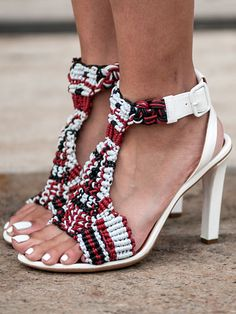 #nyfw Street Style: Bright, Fun Shoes and Accessories Steal the Show