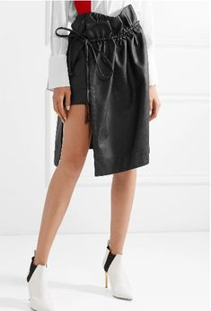 Faux leather skirt Stella McCartney Free Shipping Outlet Locations Fast Delivery Cheap Online wJs3poJg