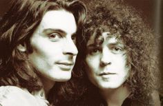 Mickey Finn and Marc Bolan