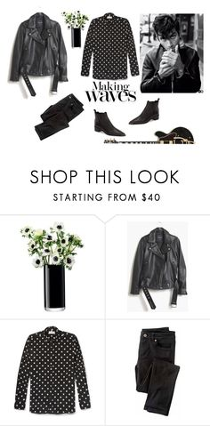 """Chapter 2:""When did your list replace the twist and turn and the fist replaced the kissed-on concern,and if you're bothered, I don't want your prayers. Save it for the morning after."""" by princesssophia ❤ liked on Polyvore featuring LSA International, Madewell, Yves Saint Laurent, Wrap and Acne Studios"