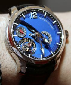 "Greubel Forsey Tourbillon 24 Secondes Contemporain ""Royal Blue"" Watch"