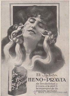 Anuncio de Jabón Heno de Pravia. 1915 @@@@......http://www.pinterest.com/marajosmuoz/publicidad-antigua/