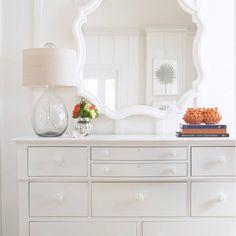 Stanley Furniture Coastal Living Retreat Piecrust Mirror @LaylaGrayce