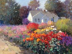 Country Home by Kent R. Wallis