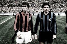 Franco Baresi E Giuseppe Baresi 2 miti di Milano, 2 simboli di A.C. Milan ed F.C. Internazionale Milano