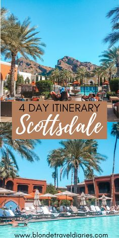The ultimate guide to planning a bachelorette party in Scottsdale, Arizona. This 4 day itinerary will tell you where to stay, where to eat at, what pool parties to go to, what night clubs to hit, and much more. This guide will tell you everything you need to know about planning the perfect weekend in Scottsdale. Scottsdale bachelorette | Scottsdale bachelorette party airbnb | Scottsdale what to do | Scottsdale restaurants | Scottsdale bachelorette party itinerary | Scottsdale pool parties