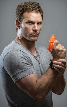 Chris Pratt - the perfect miss of masculine and loveable.