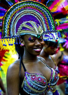 """The Caribbean Carnival of Manchester """"The Carnival is a fantastic event which celebrates the vibrancy and diversity of Manchester and people's sense of pride. Samba, Caribbean Carnival, Jamaica Carnival, Caribbean Sea, Carnival Festival, West Indian, Portraits, Carnival Costumes, Mardi Gras"""