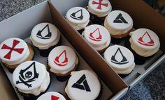 Assasins Creed Cupcakes