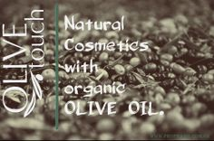 natural cosmetics with organic olive oil Natural Cosmetics, Olive Oil, Beauty Products, Organic, Logos, Cosmetics, Logo, Products, Natural Beauty Products