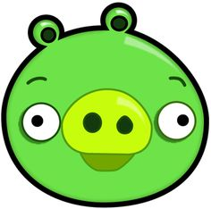 Step finished green pig  How to Draw Green Pig from Angry Birds Game in with Easy Step by Step Drawing Tutorial