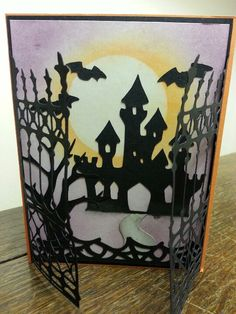 Love cricut. This is Ornamental Iron & the Design Sudio and Paper Doll Dress Up for the Castle and tree.