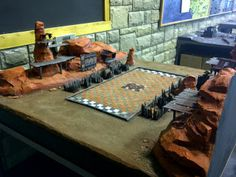 You Magnificent Bastards: Terrain Showcase - Blood Bowl Stadium