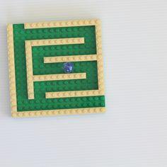 small marble run Lego
