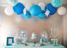 Frozen sweet table
