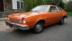 Ford Pinto, Ford Lincoln Mercury, Dream Garage, Car Show, Cars For Sale, Classic Cars, The Incredibles, Things To Sell, Orange Cars