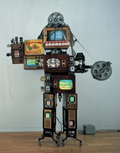 Nam June Paik, Andy Warhol Robot, 1994***Research for possible future project.