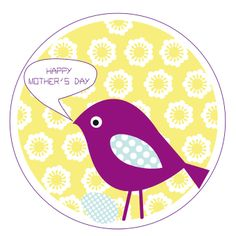 Cute lil' FREE download (gift tag) for Mother's Day
