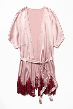 The Coziest Robes To Get Your #LazyGirl On #refinery29  http://www.refinery29.com/bathrobes#slide-6  This is a must for romantic nights in — an indoor cocktail dress, if you will....
