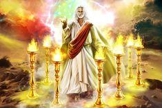 Jesus Christ Images, Jesus Art, God Jesus, Revelation Prophecy, Apocalypse, Quick View Bible, Jesus Cartoon, Bible Quiz, Jesus Second Coming
